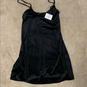 Black velvet Brandy Melville dress